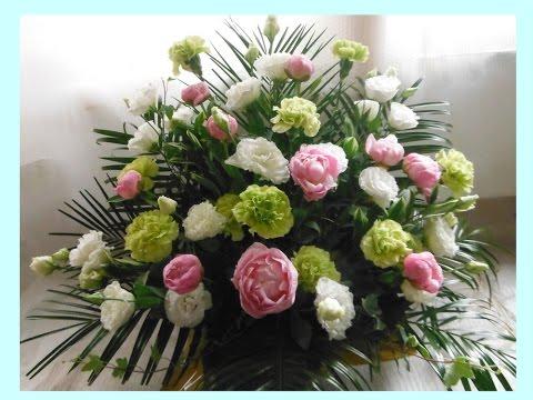 How to make a funeral flower arrangement#20170418