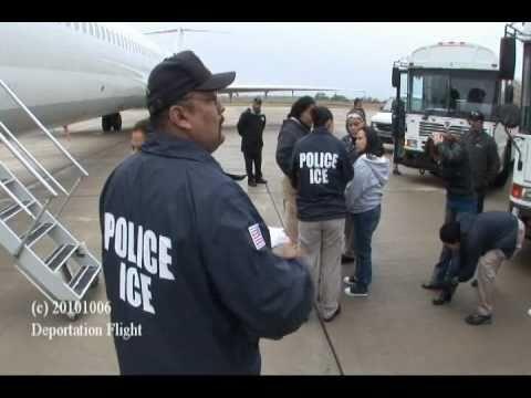 ICE Deportation Flight