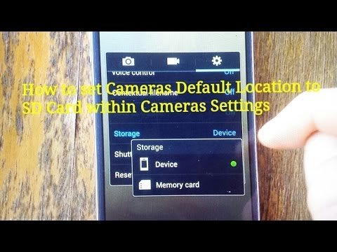 Galaxy S4: How to Set Sd Card as Default Location for Photos & Videos