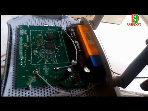 How To Increase Signal coverage Range of TP-LINK Wifi Router  Simple Mechanically in Home