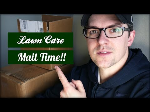 Lawn Care Mail Time - The Plan for My Yard This Year