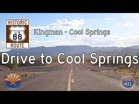 Historic Route 66 - Kingman - Cool Springs - Arizona | Drive America's Highways 🚙