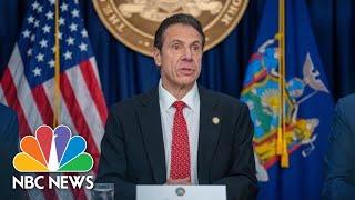 NY Gov. Cuomo Holds Coronavirus Briefing | NBC News (Live Stream Recording)