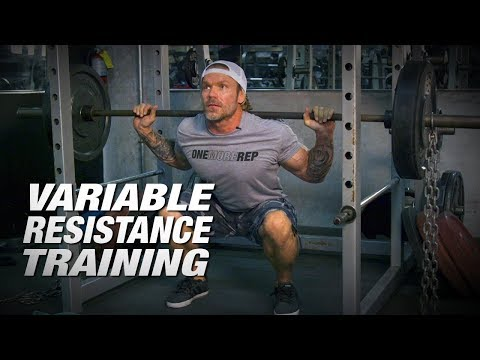Chains & Resistance Bands with Squats | Variable Resistance Training (VRT) |  ATT