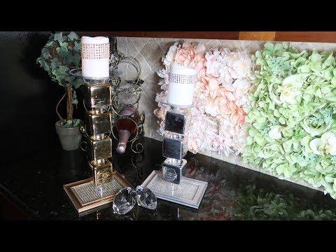 DIY Dollar Tree Z Gallerie Candle Holder Dupe