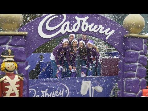 Cadbury make it snow in Dublin