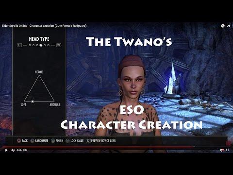Elder Scrolls Online - Character Creation (Cute Female Redguard)