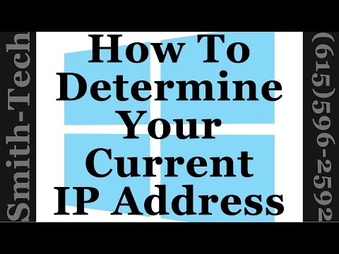 How To Find Your Network IP Address In Windows 7, 8 and 10