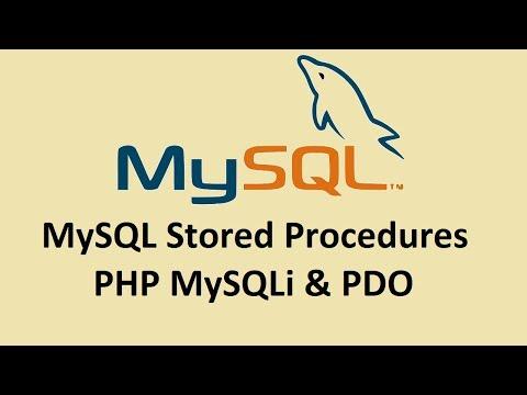 MySQL Stored Procedure: PHP OOP & MySQLi Urdu/Hindi Part 3/4