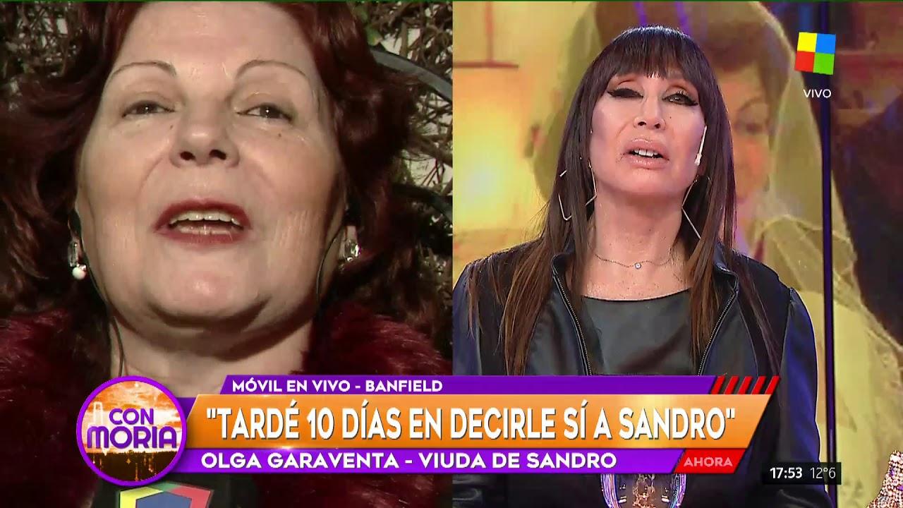 "Olga Garaventa con Incorrectas: ""Nunca fui fan de Sandro"""