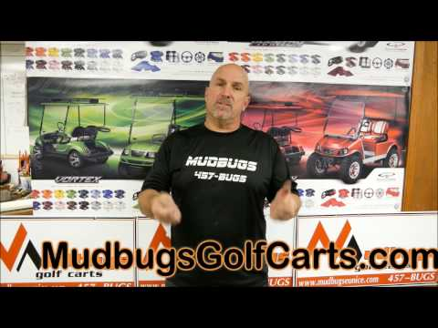 Uneven wear on front tires - Mudbugs Golf carts
