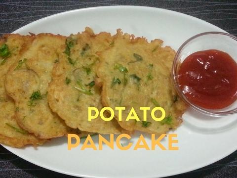 Easy Potato Pancake Recipe At Home | Potato Appetizers | Perfect Potato Latkes