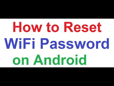 How to Reset/Recover WiFi Password with Android Smartphone, Login any WLAN Network Without Password!