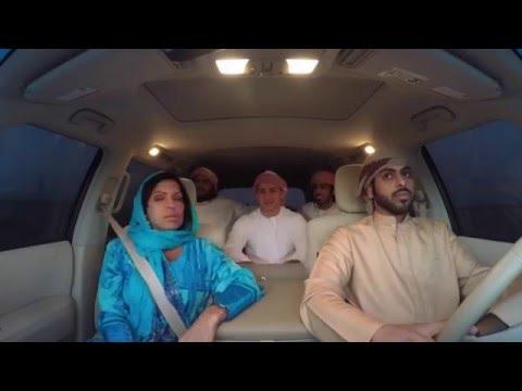 Русские катаются с арабами на их затонированных джипах