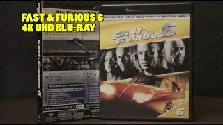 Fast & Furious 6 4K UHD Blu-Ray Unboxing DTS-X Audio/ Video Review