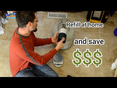 How to BLOW UP your house refilling 1lb propane tanks