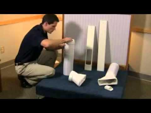 Installing a Portable Air Conditioner: Dual Hose