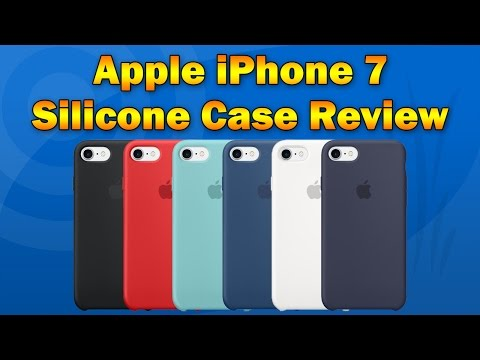 Official Apple iPhone 7/7 Plus Silicone Case Review