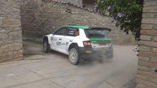 Albert Orriols - Lluis Pujolar   Rally Ciutat de Cervera 2018   Skoda Fabia R5