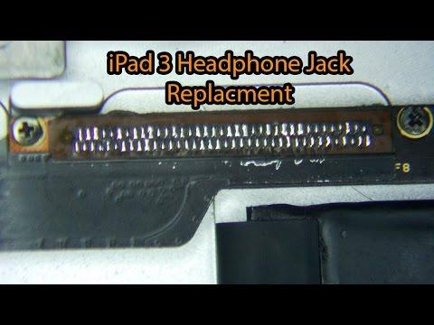 iPad 3 Headphone Jack Socket  Replacement | iCanRepairIt.co.uk