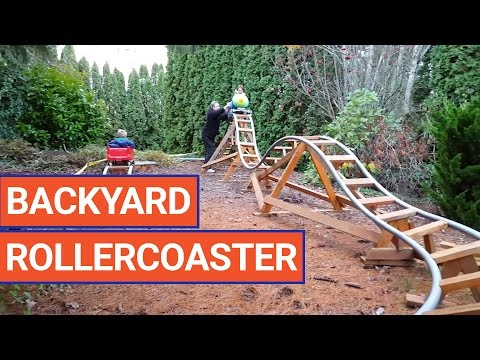 Amazing DIY Backyard Rollercoaster Video 2016 | Daily Heart Beat