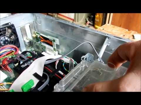 HP dc5750m Computer Cleaning the CPU Fan