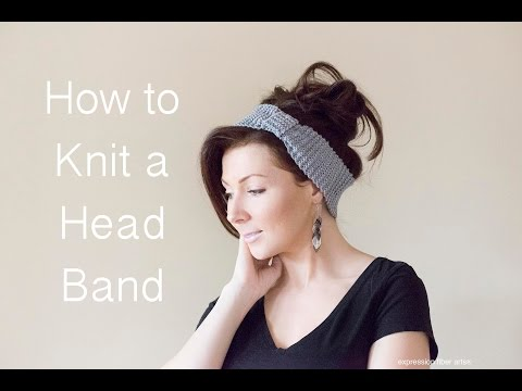 How to Knit a Headband - Beginner Level