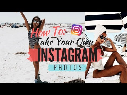 HOW TO EASILY TAKE YOUR OWN INSTAGRAM PICTURES   | TheSarahSalvini