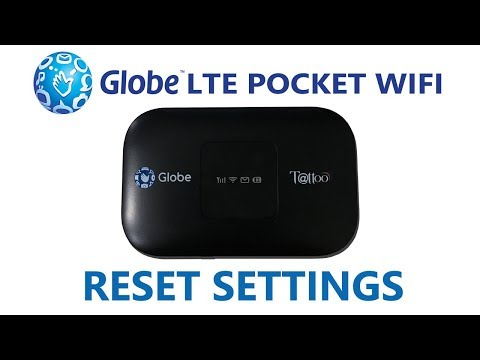 How to Reset Globe LTE Pocket WiFi