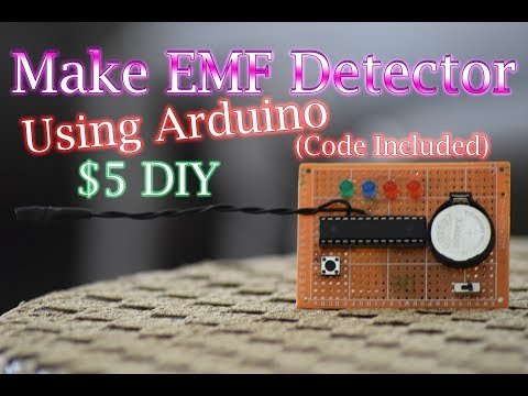 Make EMF Detector for $5 using Arduino! (Code Included)