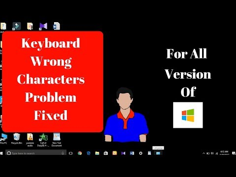 How to fix keyboard problem in any windows pc/laptop