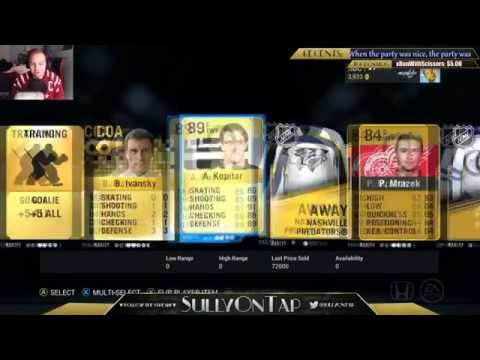 NHL 16 HUT Pack Opening | Huge Pull!