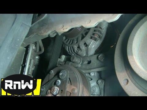 Honda Civic 1.7L SOHC Timing Belt, Tensioner, Water Pump Replacement Part 2