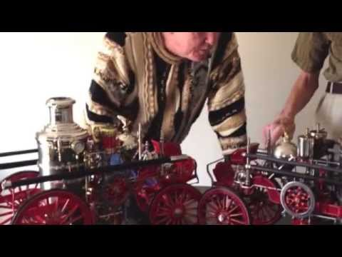 Two Fire Engines- Two Model Makers