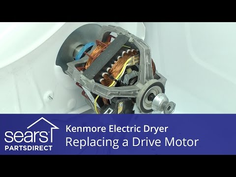 How to Replace a Kenmore Electric Dryer Drive Motor