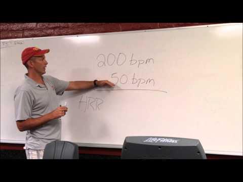 #29 Calculating Heart Rate Reserve - Saddleback Instruction