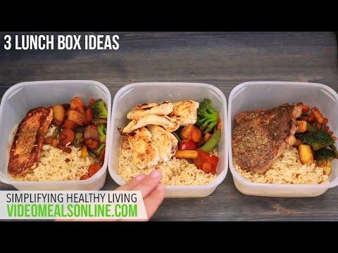 3 lunch box ideas