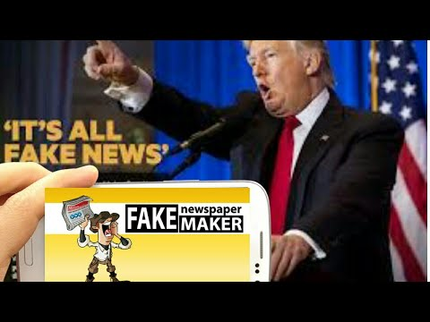 Fake Newspaper Headlines Maker App Prank App