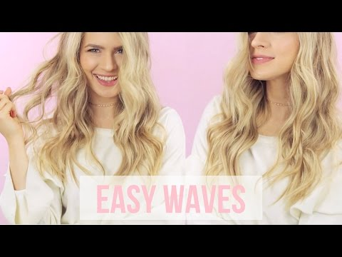My Everyday Waves Hairstyle Tutorial - KayleyMelissa