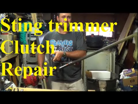Craftsman String Trimmer Clutch Repair