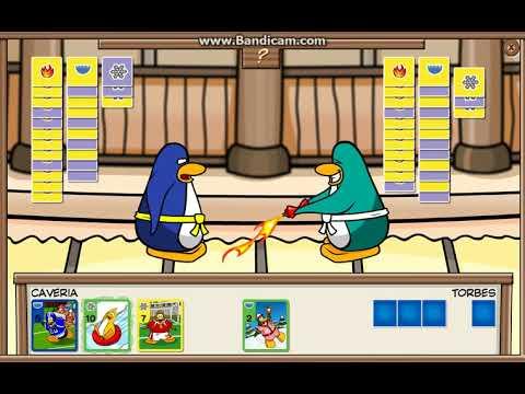 Club Penguin Rewritten Card Jitsu Yellow, Purple vs. Yellow Purple Part 3/4