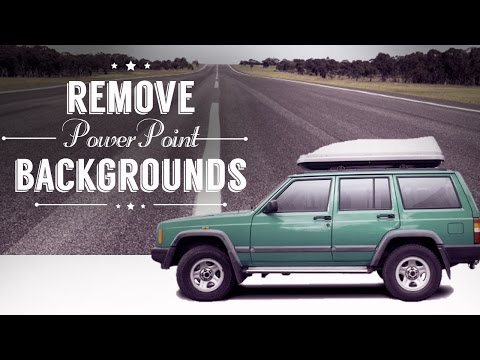 PowerPoint Tutorial: How to remove background images