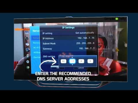 Samsung SmartTV SimpleTelly Smart DNS Setup