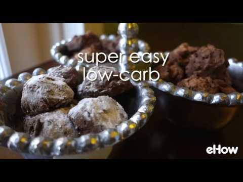 Easy Chocolate Truffles For Low Carb Eaters (Only 4 Ingredients!)