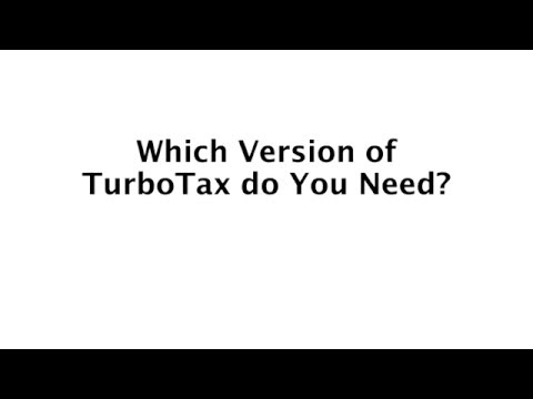 Which Version of TurboTax Do You Need?   Basic, Deluxe, Premier, Home & Business