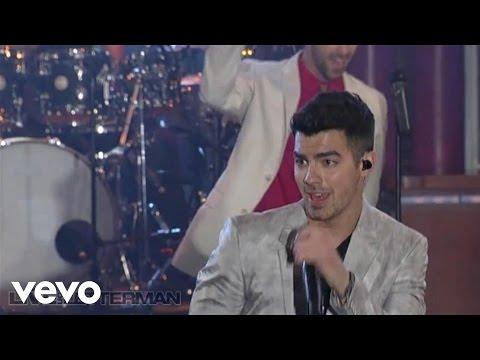 Joe Jonas - Fastlife (Live on Letterman)