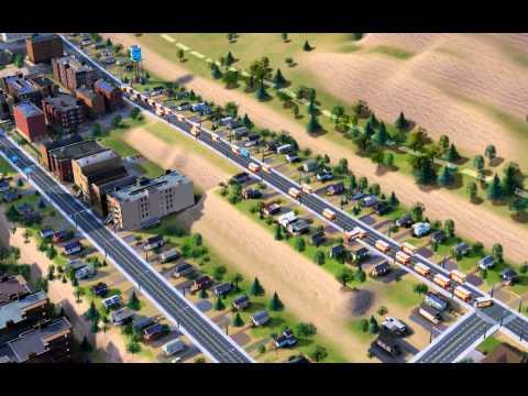SimCity traffic bug