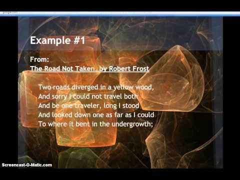 Examples of Quintet Poetry