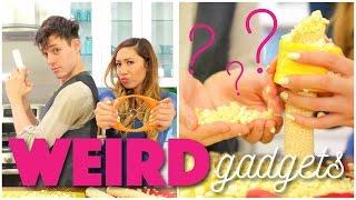Testing Weird Kitchen Gadgets #2 feat. Kurt Hugo Schneider!
