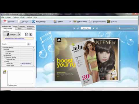 How to Burn Digital Flipbook to CD with Flip PDF Software?